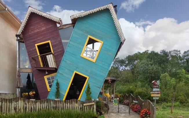 Casa Torta é uma atração imperdível para famílias nas trilhas pela Serra de São José