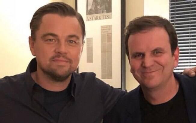 Leonardo DiCaprio  e Eduardo Paes