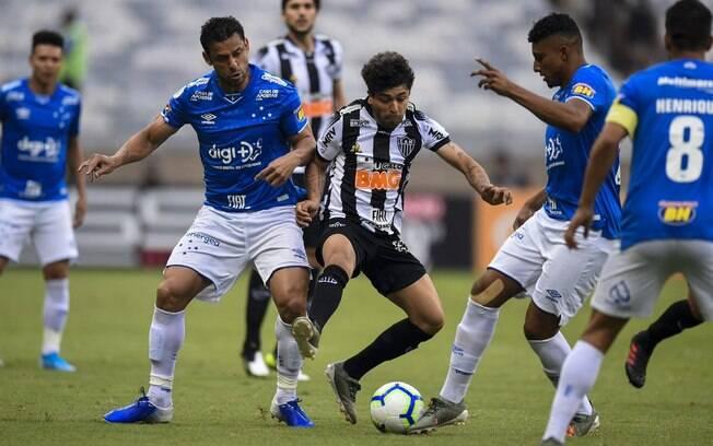 Cruzeiro e Atlético-MG vão fazer o clássico mineiro no Mineirão