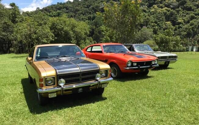 Ford Maverick, Chevrolet Opala e Dodge Charger R/T marcaram uma época que não volta mais: a dos esportivos com motores grandes