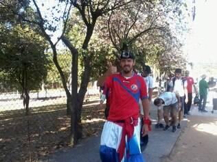 Leonardo e tantos outros torcedores de Costa Rica estão estupefatos com campanha do time