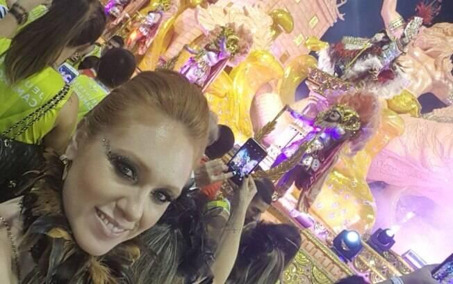 Cacá Filippini aproveitou o Carnaval em bloquinhos, avenida e festas