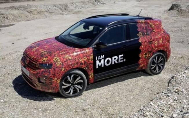 VW T-Cross mostrado na Europa será um pouco menor que o nacional, com o mesmo entre-eixos do sedã Virtus