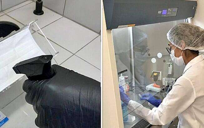 Unicamp desenvolve spray que neutraliza o coronavírus por até três dias