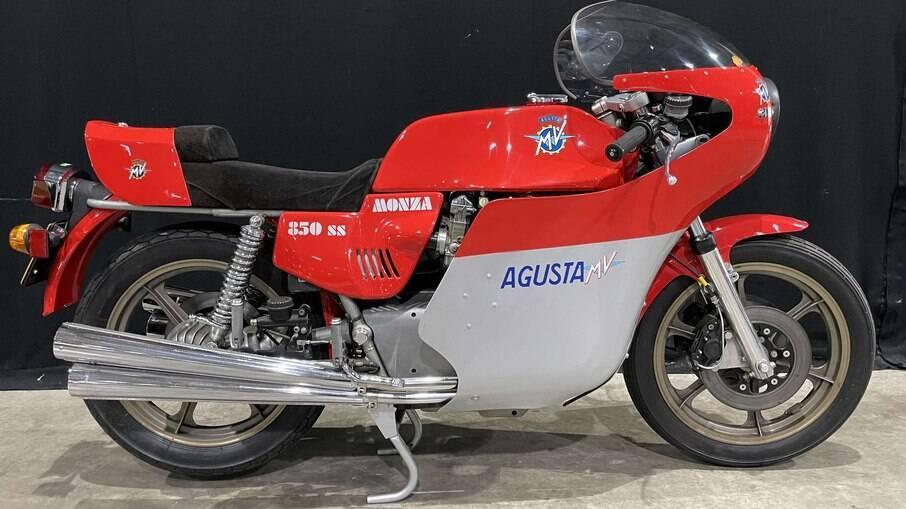 MV Agusta Monza de 1977 original, sem nenhum tipo de restauração, deverá ser arrematada por até R$ 390 mil