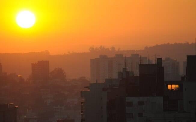 Com 29,3% de umidade relativa do ar, Campinas está em estado de atenção