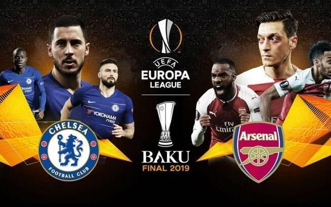 Chelsea x Arsenal farão final da Liga Europa com pouco apoio da torcida no estádio