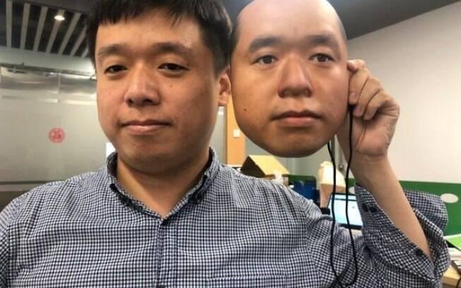 Máscaras enganaram sistema de reconhecimento facial
