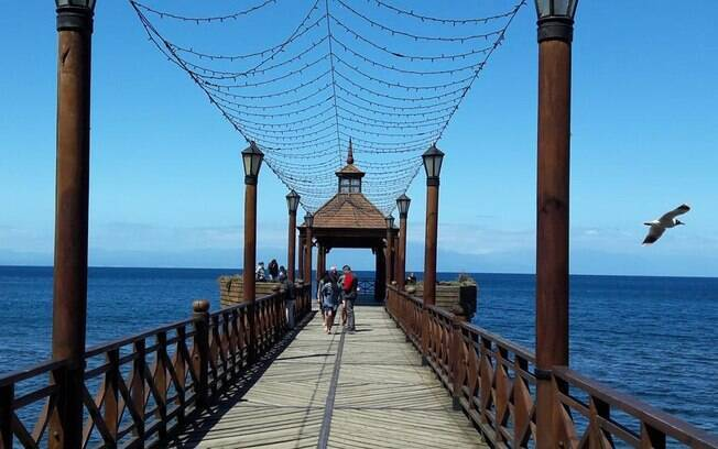 O Pier de Frutillar foi parada obrigatória no tour com o Nissan X-Trail