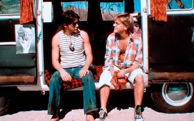 Com Kiefer Sutherland em '1969 - O Ano que Mudou Nossas Vidas' (1988) . Foto: Divulgação