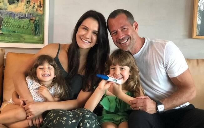 Malvino Salvador será pai pela quarta vez