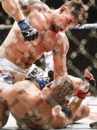 Frank Mir nocauteou Antônio Pezão no primeiro round da luta em Porto Alegre