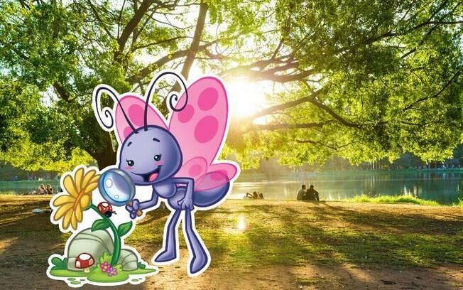 Parque do Ibirapuera é a sugestão da Borboletinha