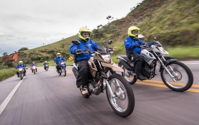 Yamaha Tour Interativo Crosser: Muita aventura e diversão na lama e fora dela