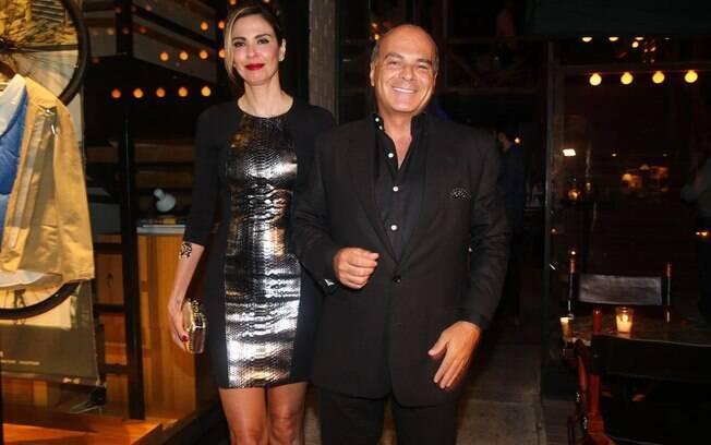 Luciana Gimenez e o marido, Marcelo de Carvalho