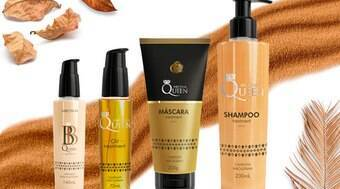 Linha Queen, da Aneethun, promete recuperar cabelos ressecados
