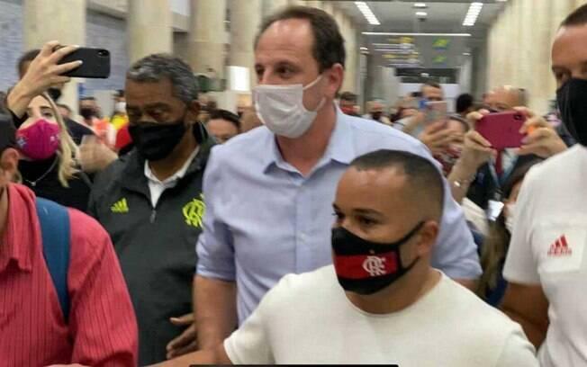 Rogério Ceni chegou ao Rio