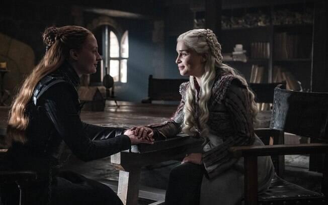 Sansa e Daenerys se estranharam ao longo da temporada: A ira prevalecerá aos impulsos por paz?