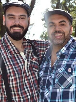 Daniel e Pedro optaram por um casamento com cara de festa ursina