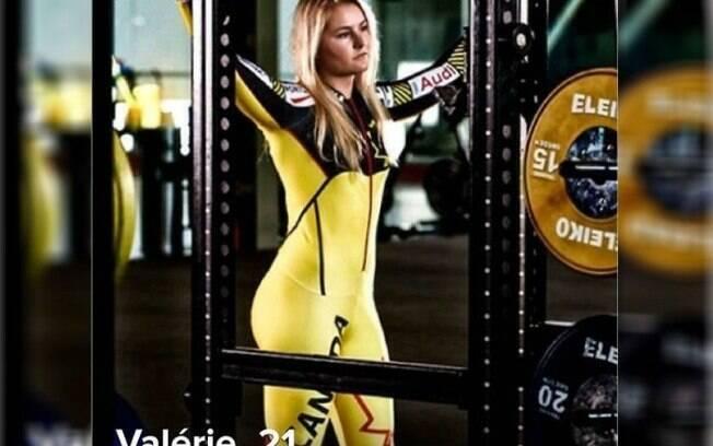 Valérie Grenier, atleta canadense de esqui alpino