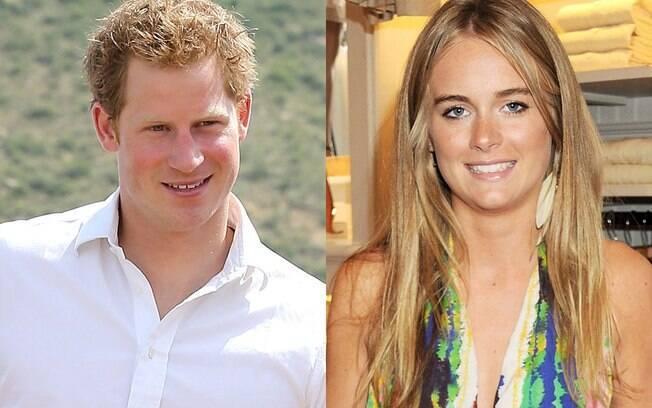 Príncipe Harry e Cressida Bonas