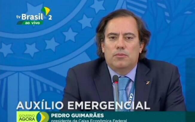 Pedro Guimarães, presidente da Caixa, faz balanço sobre o auxílio emergencial