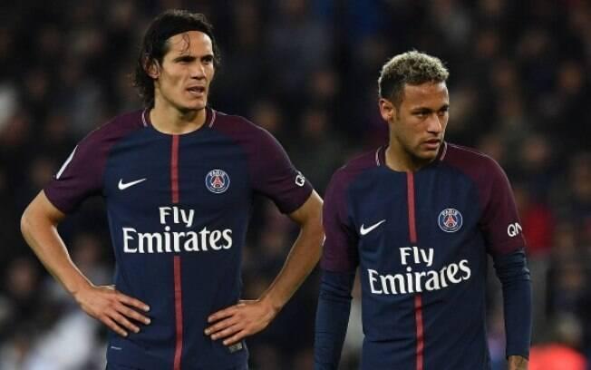 A polêmica entre Neymar e Cavani tem dado o que falar na imprensa mundial esportiva