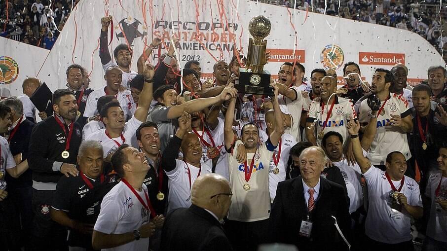 Corinthians foi campeão da Recopa em 2013