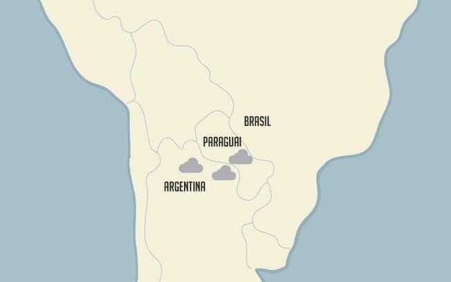 Entenda as três nuvens de gafanhotos que estão perto do Brasil