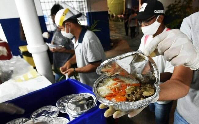 Saiba como receber marmita do Refeitório da Cidadania de Campinas