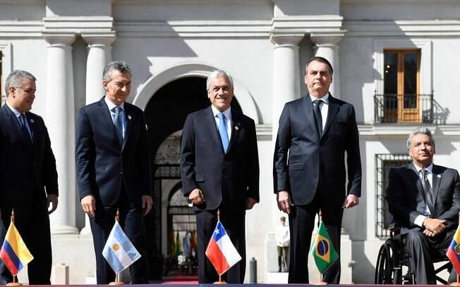 Líderes de 12 países latino americanos assinaram a criação do Prosul