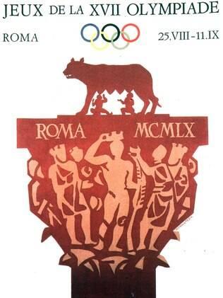 O cartas da primeira Olimpíada italiana