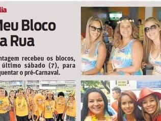 Contagem recebeu os blocos, no último sábado (7), para esquentar o pré-Carnaval.