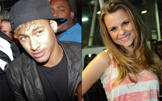 Neymar e Daniela Carvalho