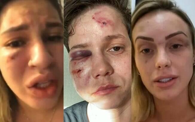Milena Bemfica, Karol Eller e Monick Camargo