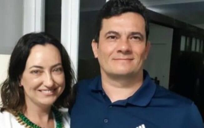 Rosangela Moro e Sergio Moro
