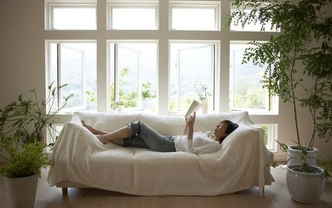 Tranquilidade do lar vazio pode ser um bom equilibrio para lidar com a agitação da cidade