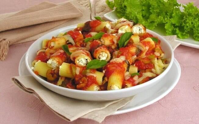 Maneiras deliciosas de inovar no preparo do rigatoni