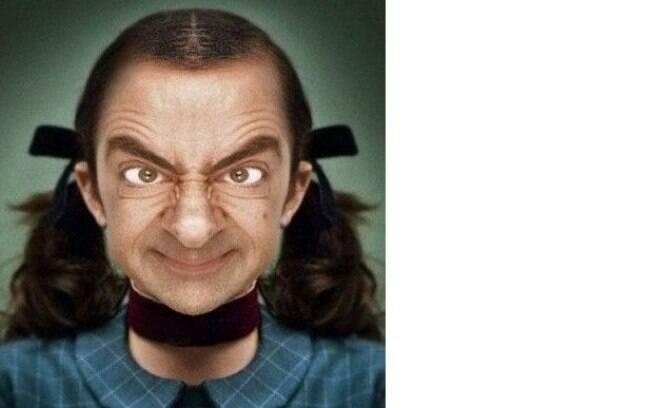 Ninguém escapou das montagens usando a cara do Mr. Bean que a galera da internet fez