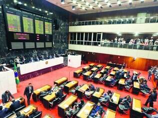 Assembleia.  Deputados de Minas votaram pelo retorno do auxílio-moradia na última terça-feira