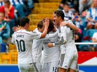 Goleada contou com hat-trick de Cristiano Ronaldo, dois de Bale e Chicharito, além de James Rodríguez