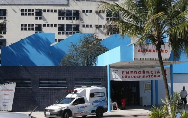 Hospital Adão Pereira Nunes, para onde a menina foi levada