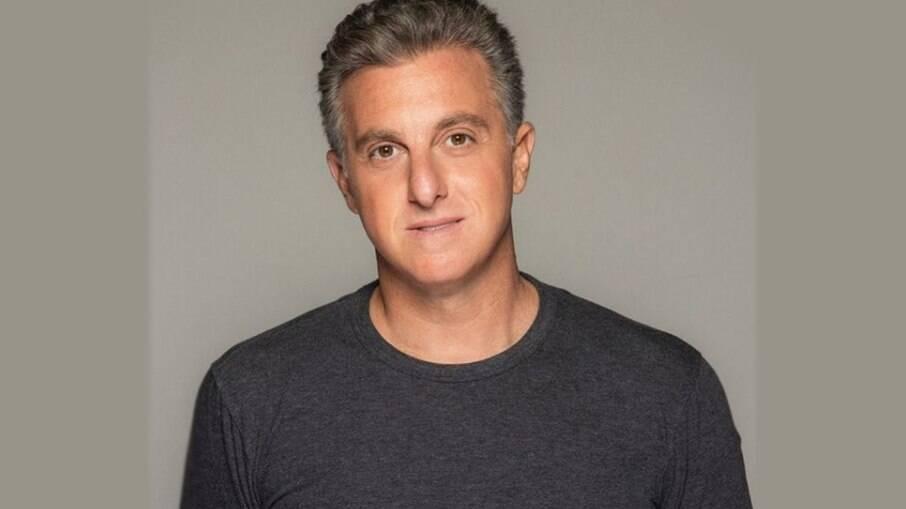 O apresentador de TV Luciano Huck