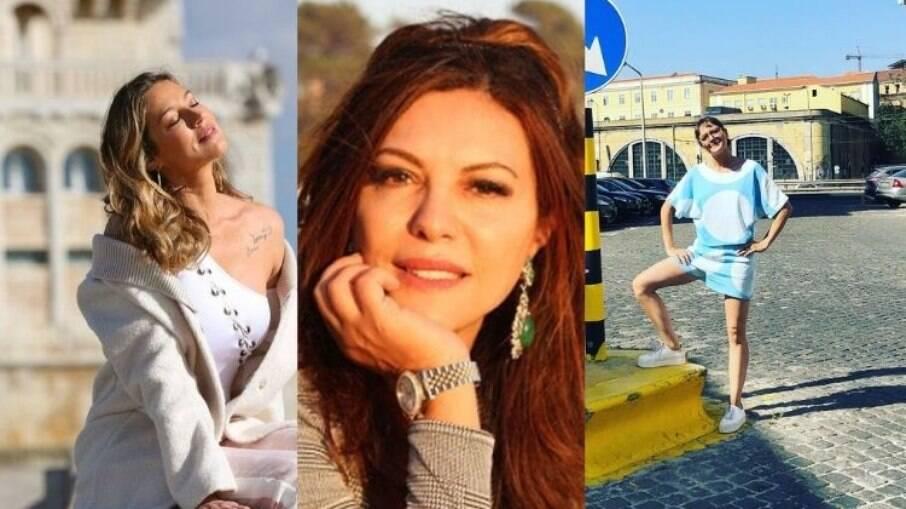 Luana Piovani, Marcia Goldschmidt e Mallu Magalhães estão morando no país lusitano
