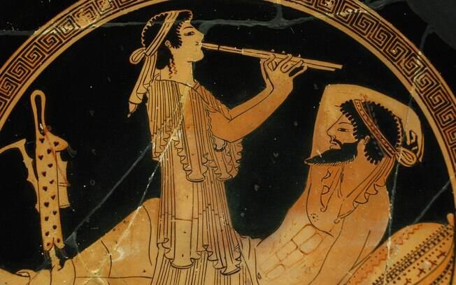 A música era um dos aspectos sociais mais importantes na Grécia Antiga