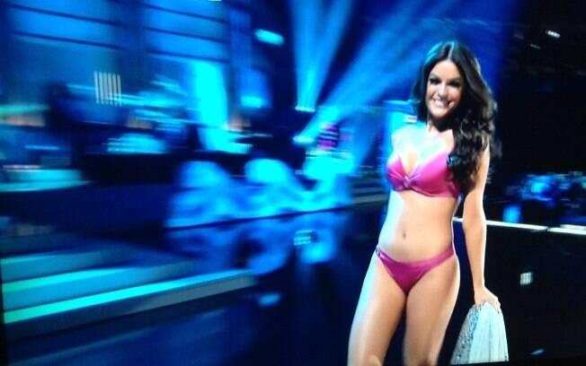 Melissa Gurgel, Miss Brasil . Foto: Reprodução