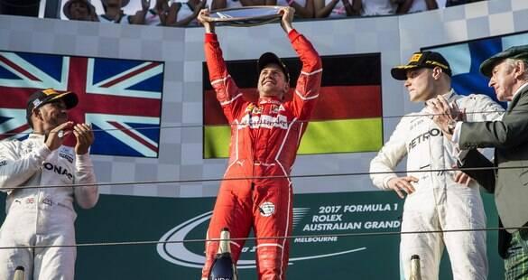 Vitória de Vettel e Ferrari no GP da Austrália de F1 causa euforia na Itália