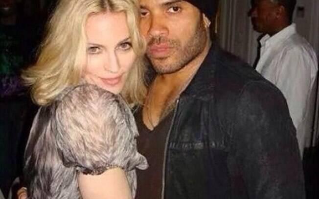 Madonna e Lenny kravitz