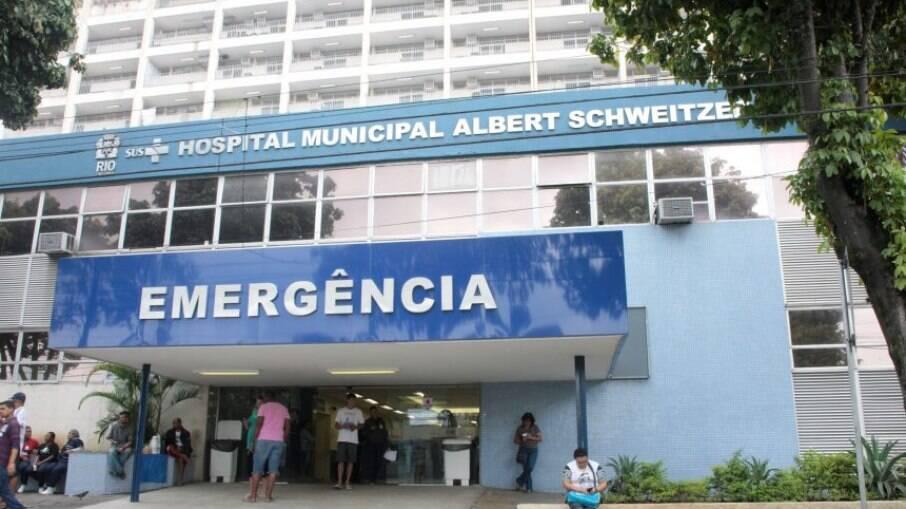 Hospital municipal Albert Schweitzer recebeu o menor atingido por bala perdida em Senador Camará