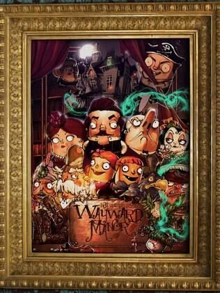 Jogo de Neil Gaiman, Wayward Manor será lançado em julho - Home - iG
